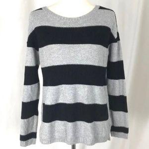 Treasure & Bond Scoop Neck Stripped Sweater XS